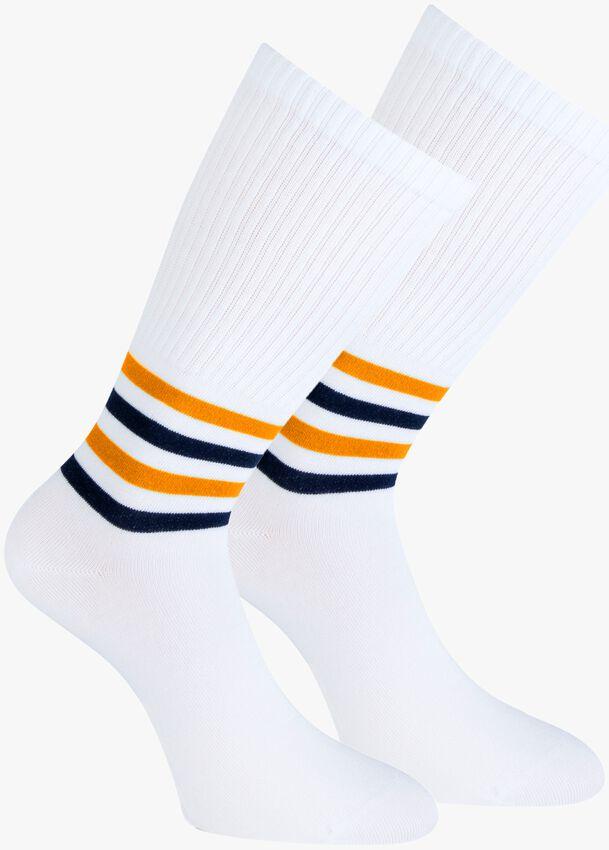 Weiße MARCMARCS Socken GISELA  - larger