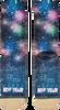 Grüne XPOOOS Socken XMAS HAPPY NEW YEAR 80'S - small