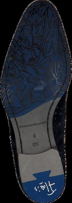 Blaue FLORIS VAN BOMMEL Schnürschuhe 18075 - large