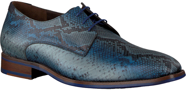 Graue FLORIS VAN BOMMEL Business Schuhe 18297  - large