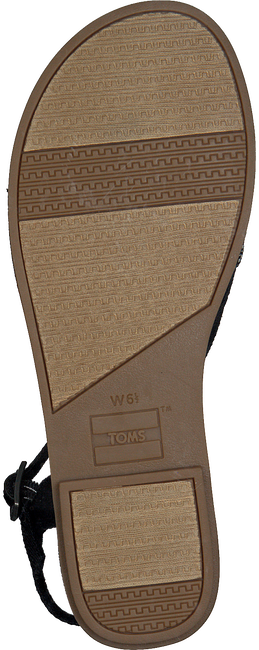 Schwarze TOMS Sandalen LEXIE - large