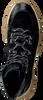 Schwarze MARIPE Schnürboots 29452  - small