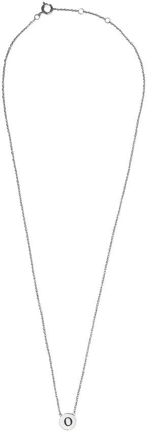 Silberne ALLTHELUCKINTHEWORLD Kette CHARACTER NECKLACE LETTER SILV - larger
