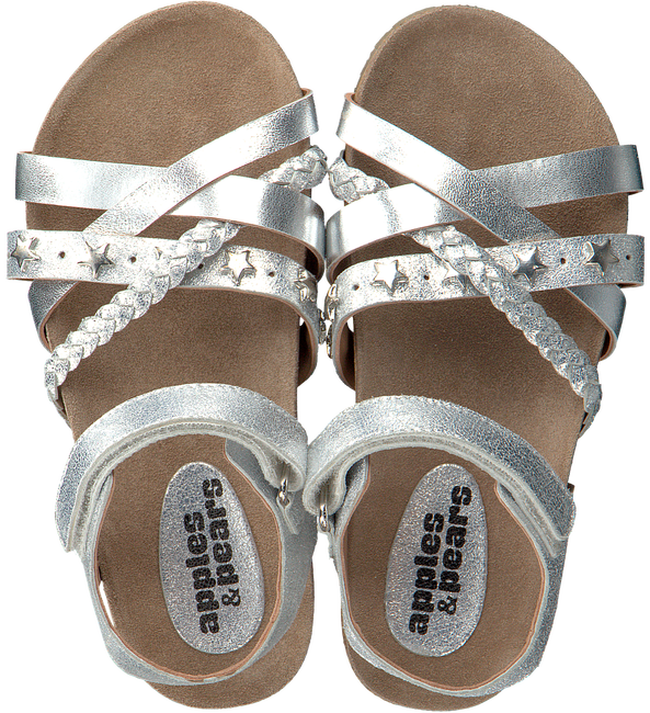 Silberne APPLES & PEARS Sandalen FORTUNA  - large