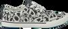 Weiße BRAQEEZ Sneaker PRINT BLACK/WHITE - small