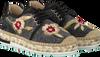 Schwarze KANNA Sneaker KV8057 - small