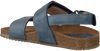 Blaue CLIC! Sandalen TROY - small