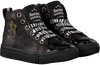 Schwarze SHOESME Schnürschuhe SH9W010  - small