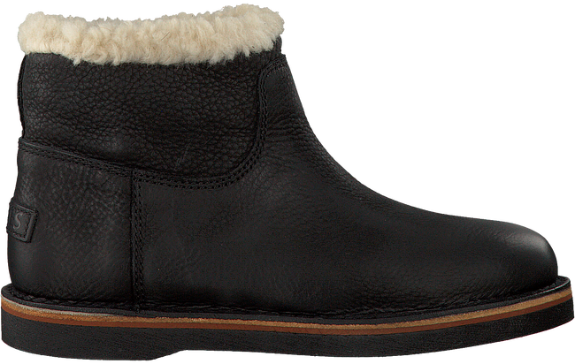 Schwarze SHABBIES Ankle Boots 181020056 - large