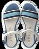 Blaue UNISA Sandalen NETTA  - small