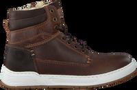 Braune OMODA Sneaker high A0F503E6L_BRWNOM  - medium