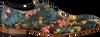 Grüne MASCOLORI Business Schuhe BIRDS IN PARADISE - small