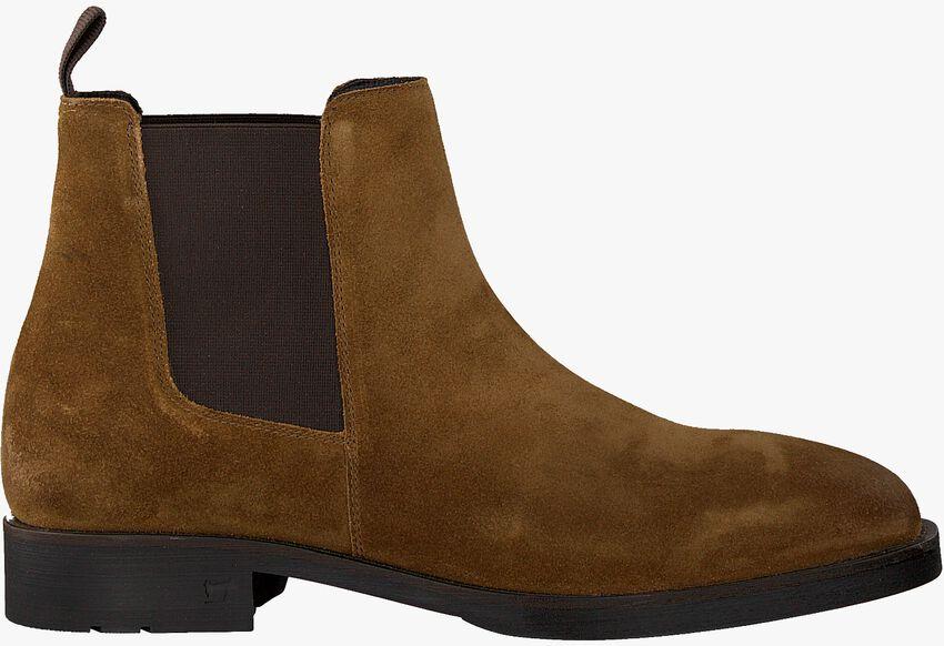 Cognacfarbene SCOTCH & SODA Chelsea Boots PICARO  - larger