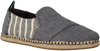 Schwarze TOMS Espadrilles DECONSTRUCTED ALPARGATA ROPE  - small