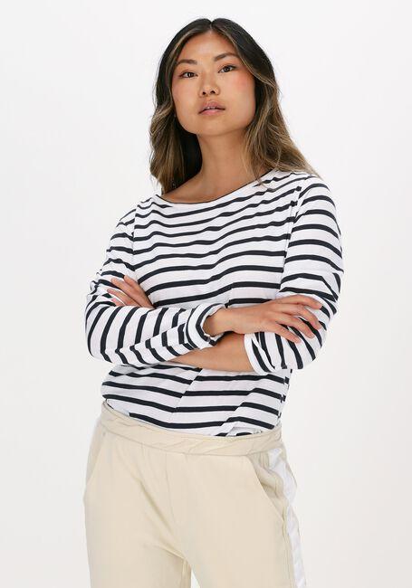 Weiße 10 DAYS T-shirt LONGSLEEVE TEE STRIPE - large