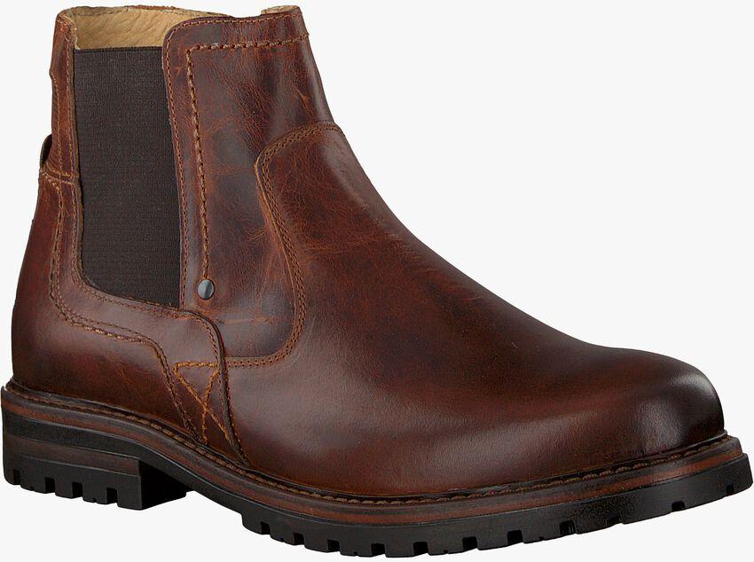 Cognacfarbene OMODA Chelsea Boots 710060 - larger