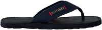 Blaue TOMMY HILFIGER Pantolette ELEVATED LEATHER BEACH  - medium