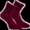 Rote MARCMARCS Socken ALEXIA - small