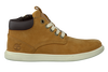 Camelfarbene TIMBERLAND Ankle Boots GROVETON LEATHER CHUKKA - small