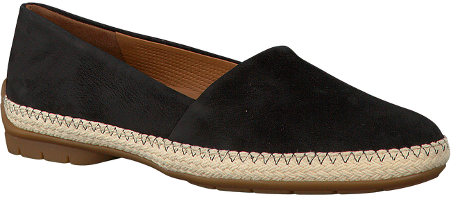 Schwarze PAUL GREEN Slipper 1962 - large