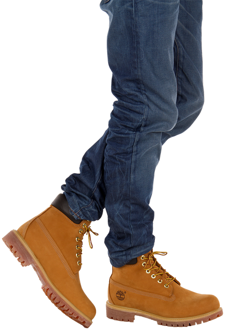 Camelfarbene TIMBERLAND Ankle Boots 6IN PREMIUM FTB - large
