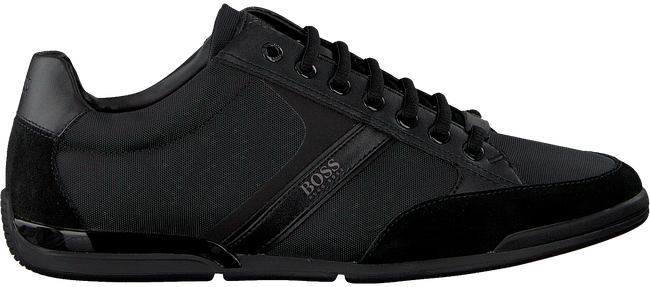Schwarze HUGO BOSS Sneaker SATURN LOWP  - large