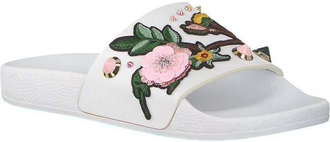 Weiße THE WHITE BRAND Pantolette ASIAN - large