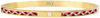 Goldfarbene MY JEWELLERY Armband CORD BANGLE - small