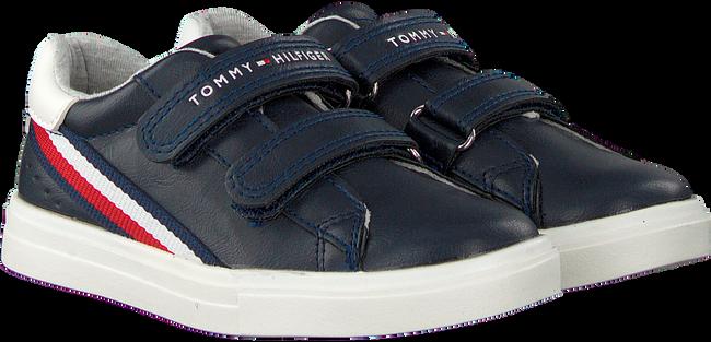 Blaue TOMMY HILFIGER Sneaker low LOW CUT VELCRO SNEAKER  - large