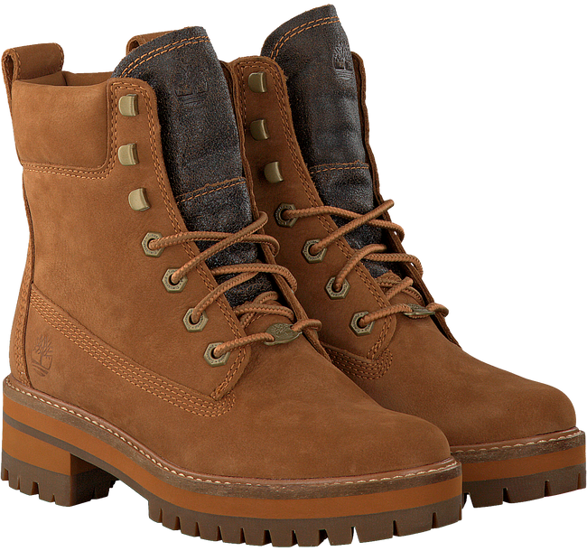 Braune TIMBERLAND Ankle Boots COURMAYEUR VALLEY YB - large