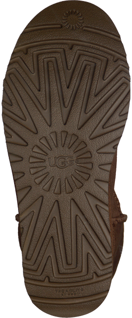 Kamelfarbene UGG Winterstiefel CLASSIC SHORT II - large