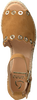 Cognacfarbene KANNA Espadrilles KV8404 - small
