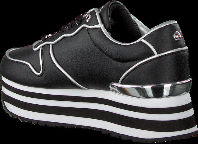 Schwarze TOMMY HILFIGER Sneaker low METALLIC FLATFORM  - large