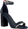 Blaue TOMMY HILFIGER Sandalen TOMMY STRAPPY HIGH HEEL  - small