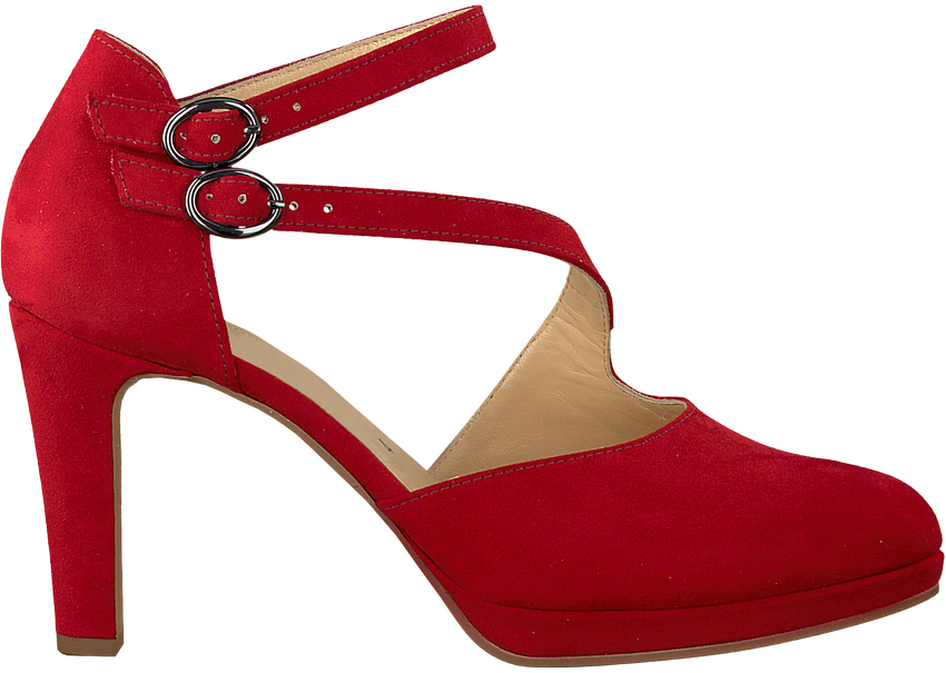 Rote GABOR Pumps 370.1 - larger