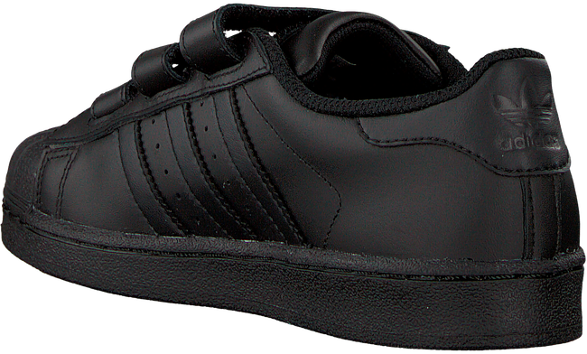 Schwarze ADIDAS Sneaker SUPERSTAR FOUNDATION - large