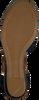 Blaue TOMMY HILFIGER Sandalen BASIC CLOSED TOE MID WEDGE  - small