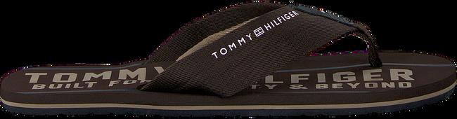 Braune TOMMY HILFIGER Pantolette SMART TH BEACH SANDAL - large