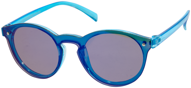 Blaue LE BIG Sonnenbrille SALVIA SUNGLASSES  - large