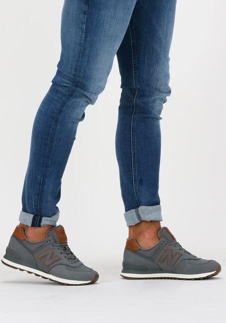 Graue NEW BALANCE Sneaker 738041-60  - large