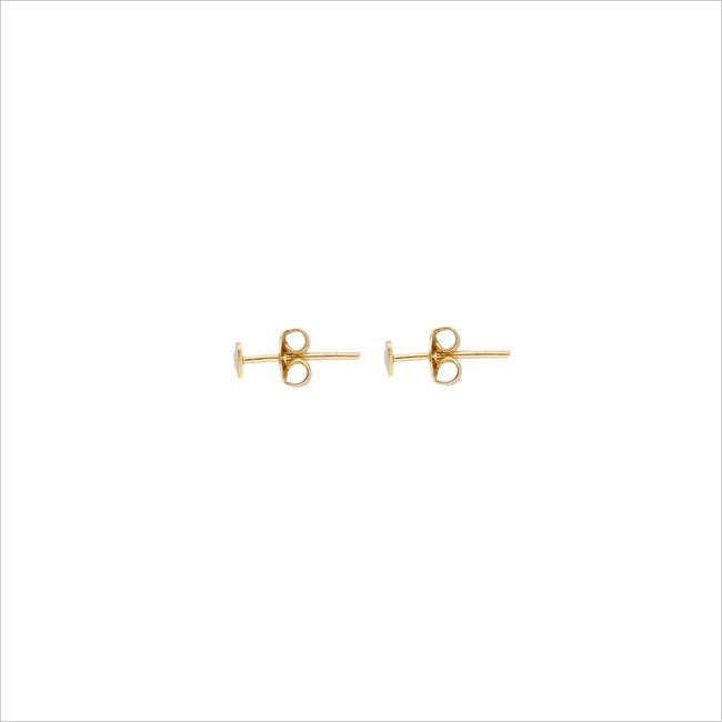 Goldfarbene ALLTHELUCKINTHEWORLD Ohrringe PETITE EARRINGS HEART - large