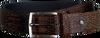 Cognacfarbene FLORIS VAN BOMMEL Gürtel 75190 - small