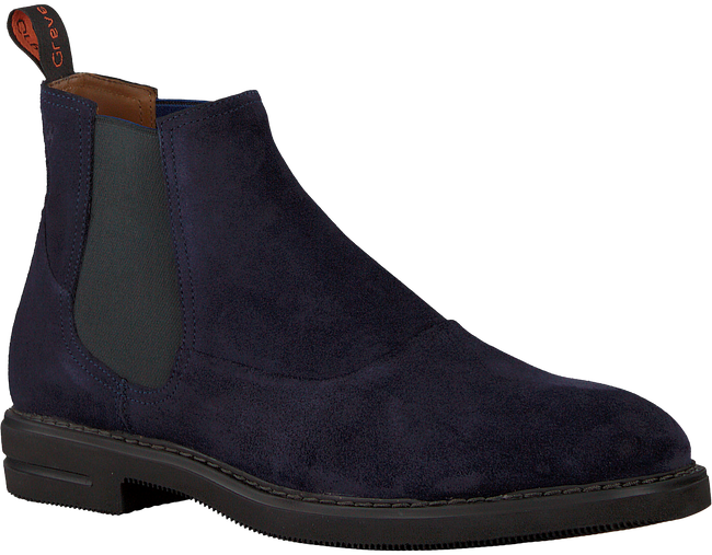 Blaue GREVE Chelsea Boots GERMAN - large