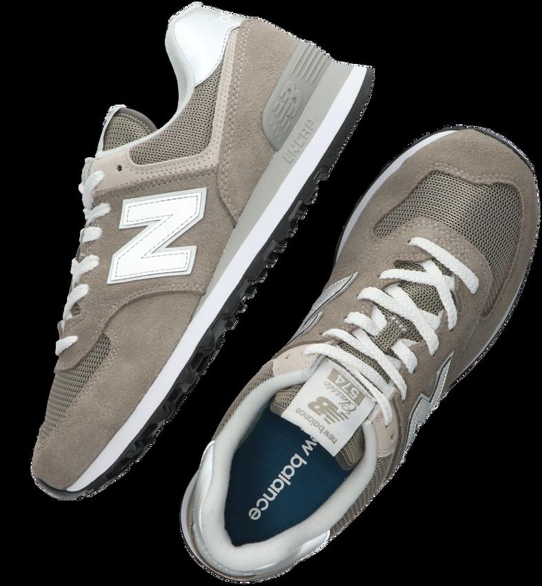Graue NEW BALANCE Sneaker ML574 MEN - larger