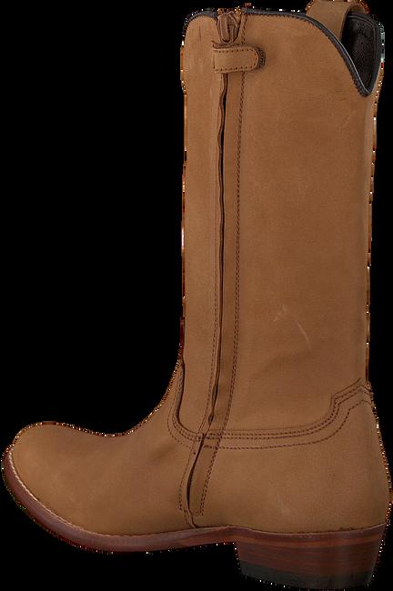 Cognacfarbene CLIC! Hohe Stiefel 7102 - large