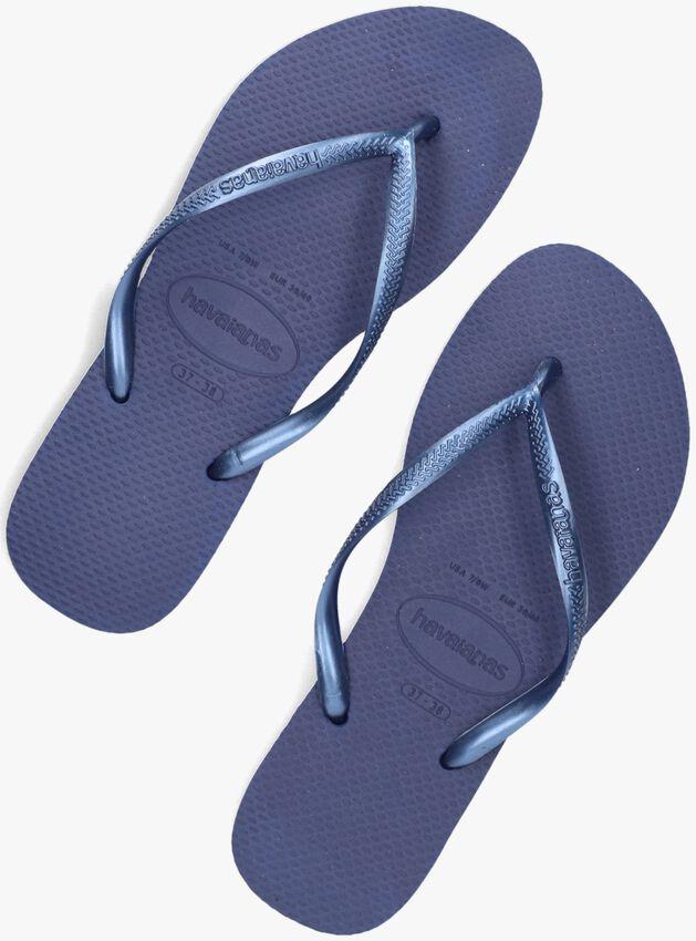 Blaue HAVAIANAS Zehentrenner SLIM WOMEN - larger