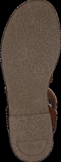 Cognacfarbene OMODA Sandalen M05059  - large