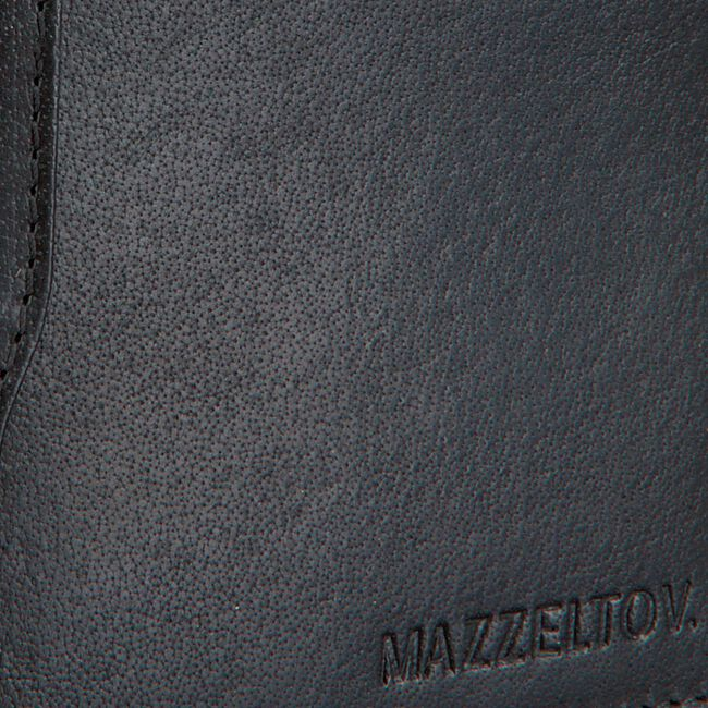 Schwarze MAZZELTOV Portemonnaie TIBOR01  - large