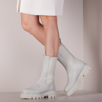 Weiße TORAL Chelsea Boots TL-12577  - medium