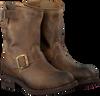 Braune SENDRA Biker Boots 12399 - small